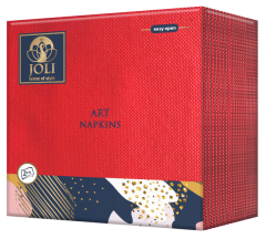 Art Napkins Red from JOLI