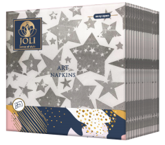 Art Napkins Stars from JOLI