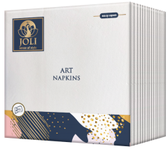 Art Napkins White from JOLI