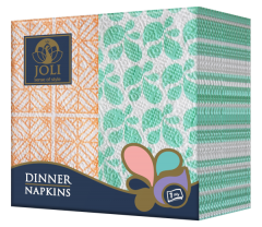 Dinner-Napkins-Orange-Green-Joli
