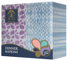 Dinner_Napkins_Purple_Flowers_Purple_Blue_Rhombus